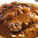 Hainanese chicken chop with pepper sauce #amayzingEatsKL #burpple