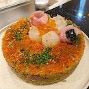 #amayzing_KLCC #burpple #🍣🎂 #sushicake #寿司ケーキ