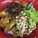 Bun Ga Nuong (Grilled Chicken Chop Vermicelli, $6)