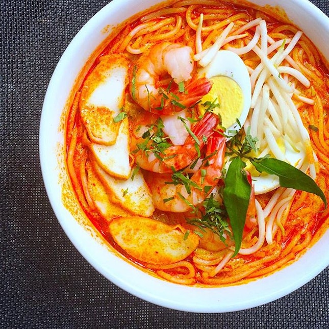 A special local heritage dish prepared by Chef Danny at #casaverdesg this is the Laksa dish that will be available from 3 to 17 August specifically for National Day celebrations :) #laksa #sg50 #singaporebotanicgardens #unescoworldheritage #sgfood #foodporn #burpple
