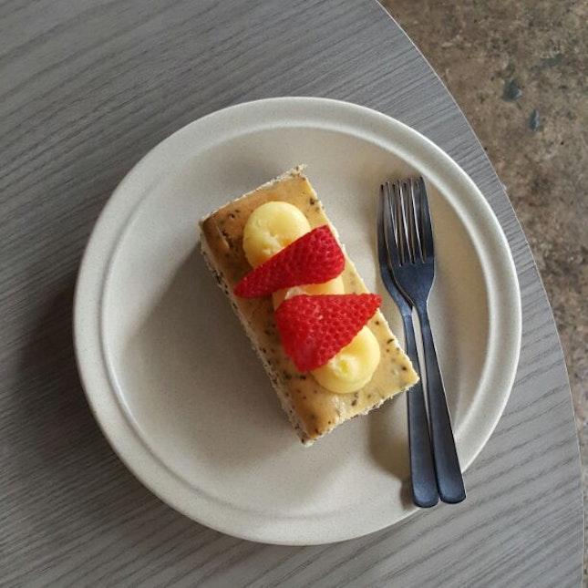 Earl Grey Lemon Cheesecake
