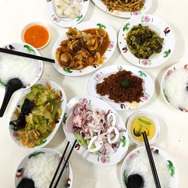Teochew porridge for the Teochew family😋
