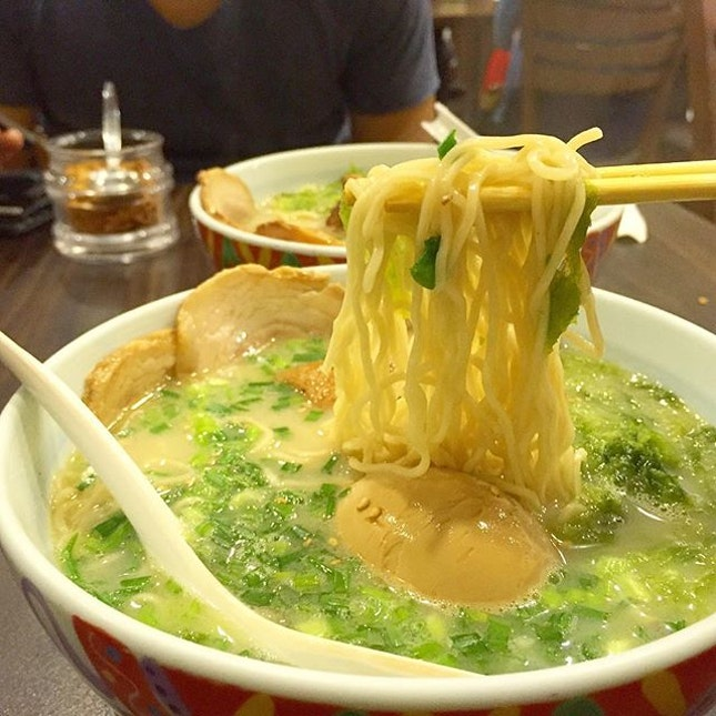 A hot bowl of ramen to end the short yet long week.