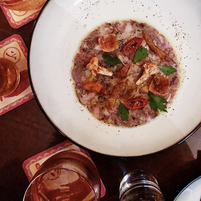 Brawn Terrine, charred bread and a Messy Manhattan is one of the best ways to end the week.