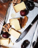 36 month aged Comte with dates, cherries, walnuts and honey.