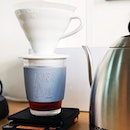 The large Frobo cup is big enough for ice and a single serving of pourover coffee.