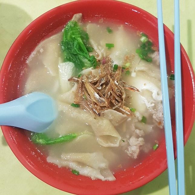 mee hoon kuay ($4) from Ho Kee Sheng Mian/Mee Hoon Kuay