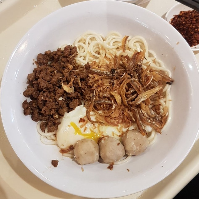 traditional chilli ban mee ($5.90) from KL Traditional Chilli Ban Mee