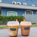 iced mocha ($8) & iced white ($6.50)