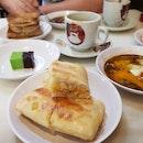 Orange Ciabatta Kaya Toast