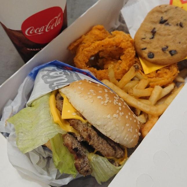 Double Cheese Burger Box Set