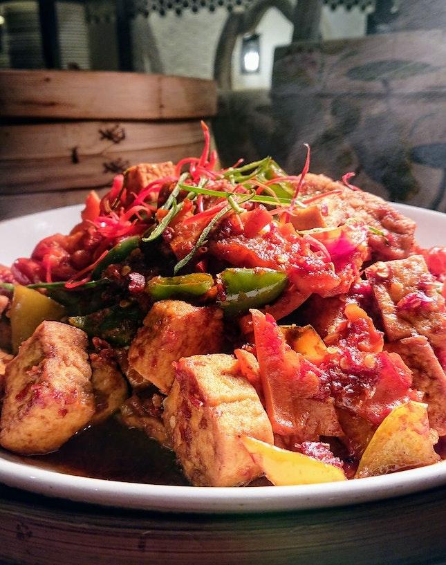 Indonesian Specialties - Tahu Goreng