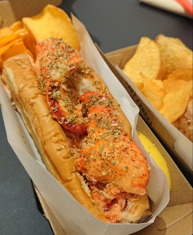 $25.50 For Two Lobster Rolls