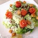 Caesar Salad wit Smoked Salmon
