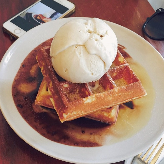 Best Waffles In Toapayoh!