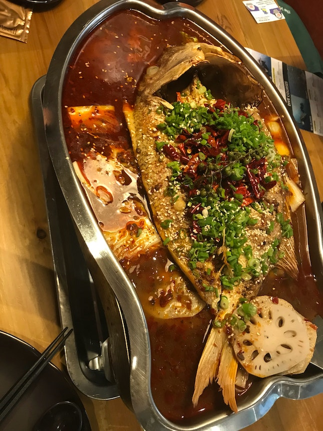 Fiery MALA Whole Fish (from $35-70ish)