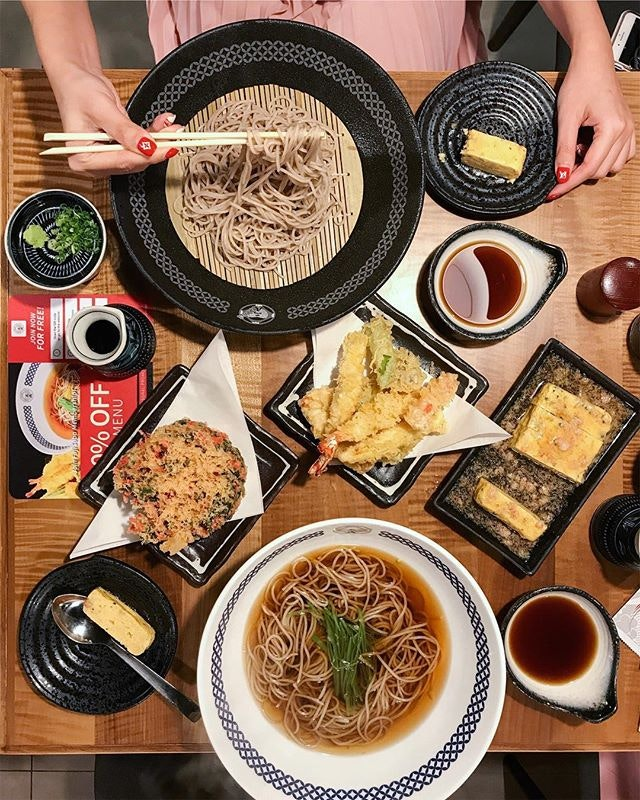 While it isn't as popular as ramen, soba also have its own avid supporters!