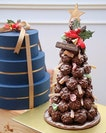 It's the most wonderful time of the year~ Was wowed by the Chocolate Gianduja Ball Christmas Tree ($95).