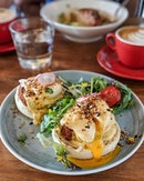 Who doesn't love eggs benedict and hollandaise sauce?