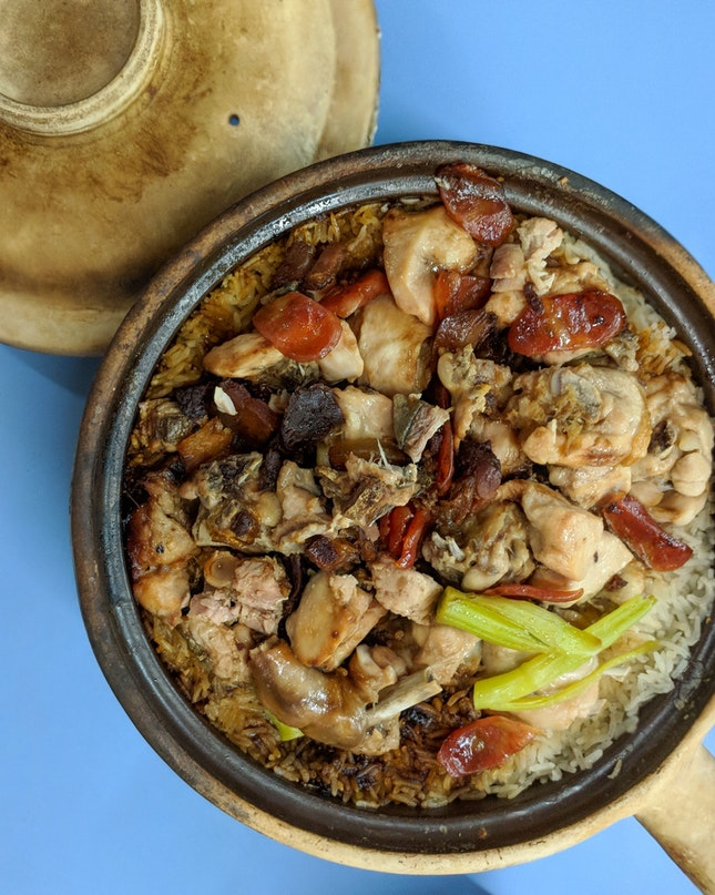 Claypot Rice ($5 onwards)