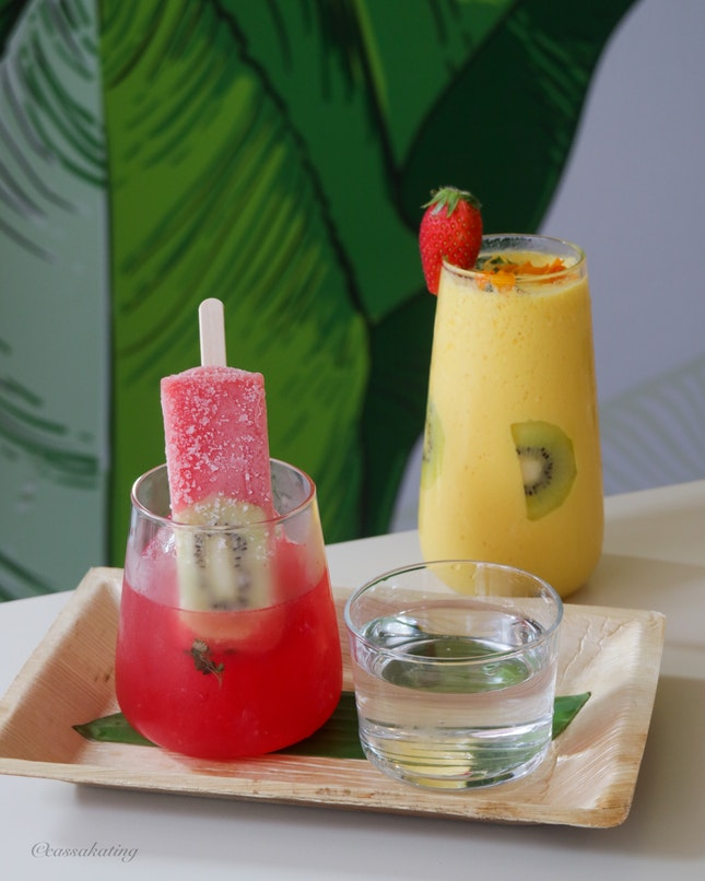 Popsicle Spritzers And Smoothies