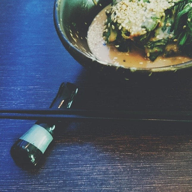 Enjoying the first few bites of the brand new year.