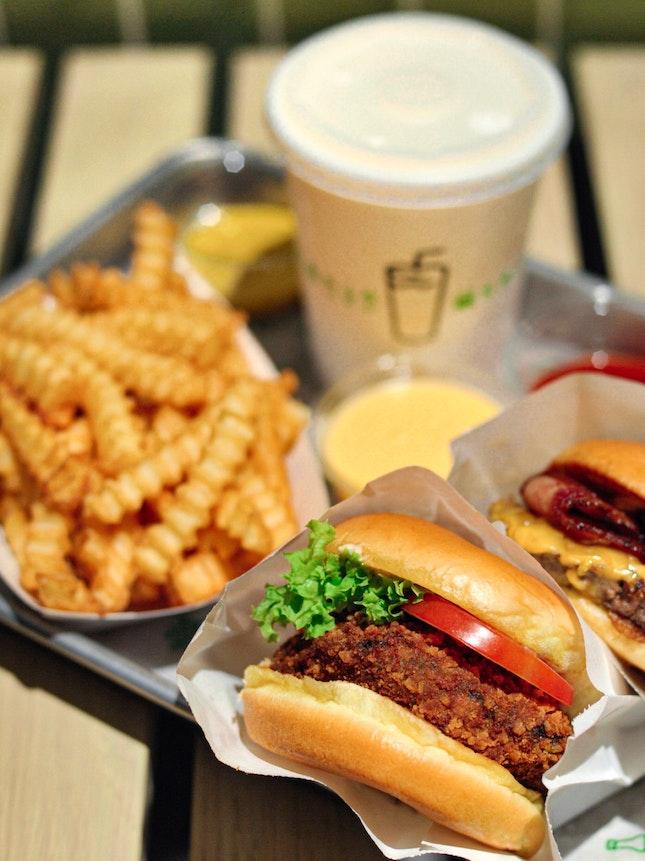 🍔Shack Burger 😋(3/5)