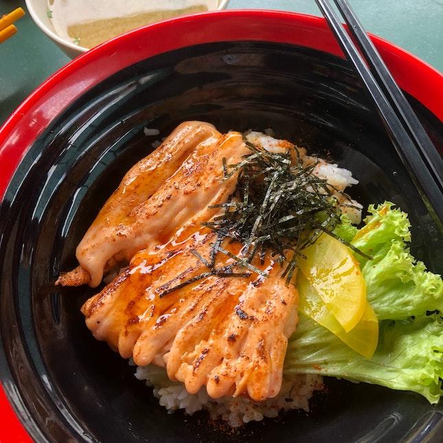 Mentaiko Salmon Don ($6)