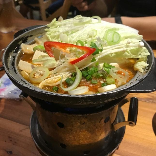 Mini Kimchi Mandu Tang Hotpot