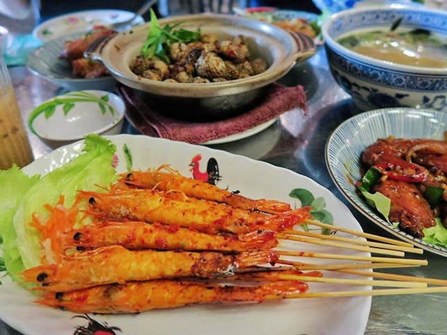 Saigon Chilli Prawns - $13.90 This came to us late but deserve a feature cos it was good too!