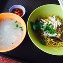 Lau Sim Shredded Chicken Noodles (Toa Payoh West Market & Food Centre)