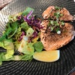 Sous Vide Salmon With Yuzu Salad