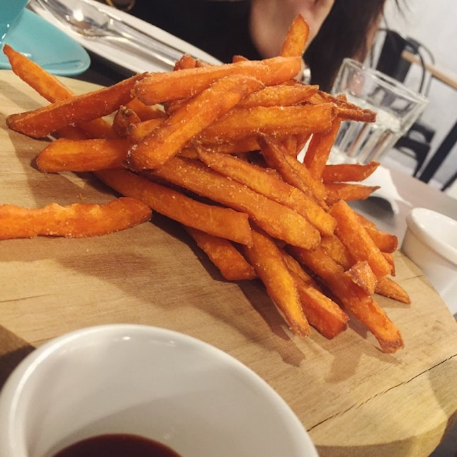 Sweet Potato Fries! Yum!