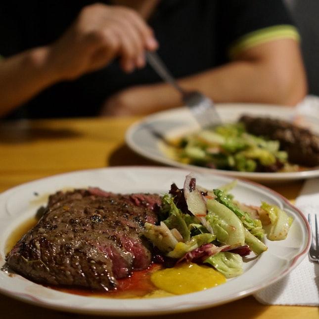 No Fuss. No Fluff. Just Steak