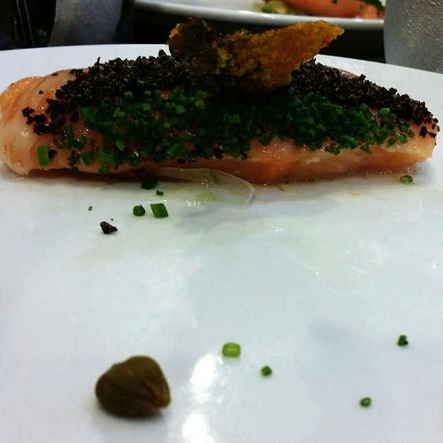 Salmon Confit @ Saveur