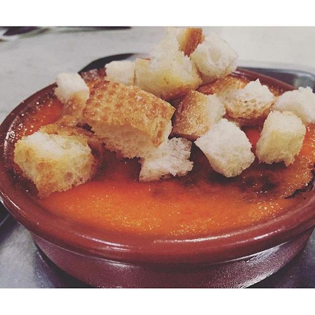 Orange kaya creme brûlée ...