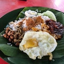 Yummy Nasi Lemak With Fine Dine Portion