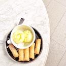 Cempedak spring rolls with vanilla ice cream 😋🍦❤️ #FatSpoon #dindins