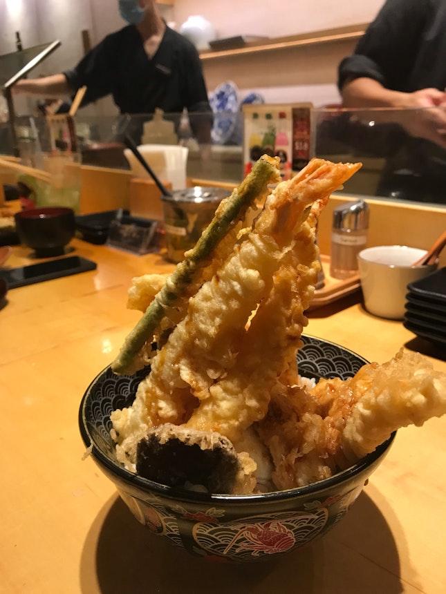 Seafood Tendon