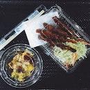 Pumpkin & Sweet Potato Salad, Teriyaki Chicken