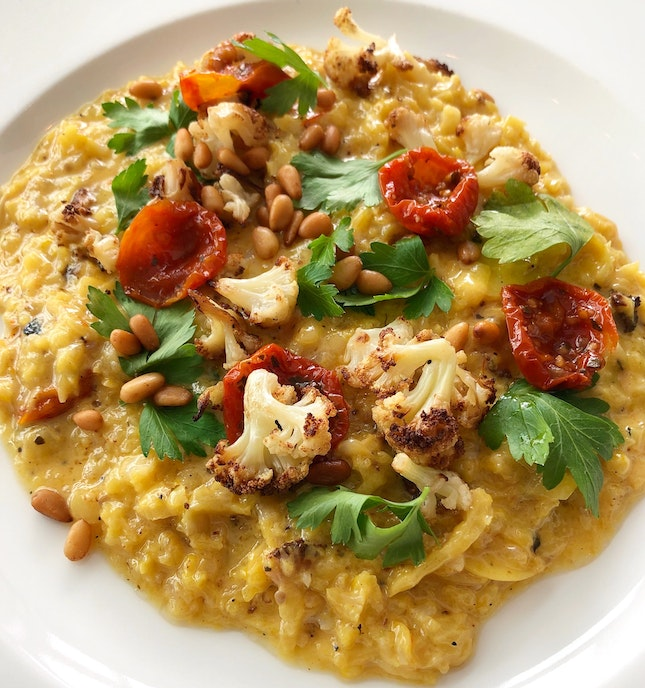 Cauliflower Risotto In The Newly Launched Weekday Lunch