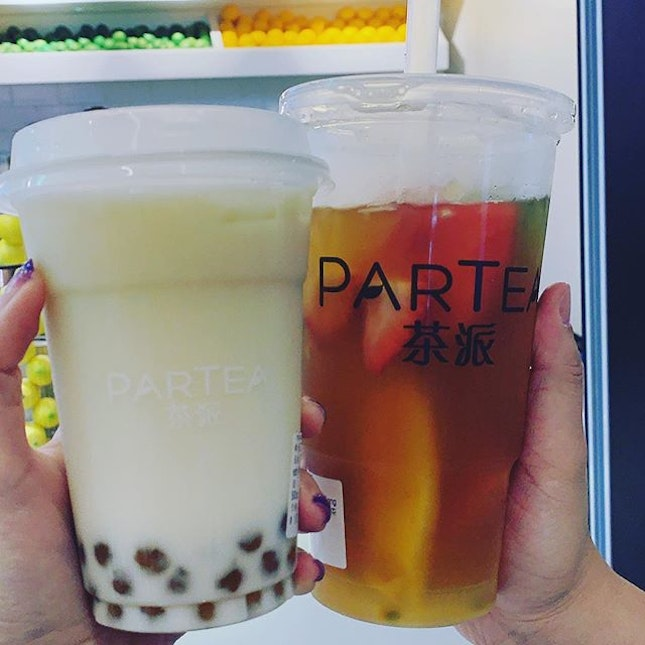 Finally drank my first cup of bubble tea in 3 months?!