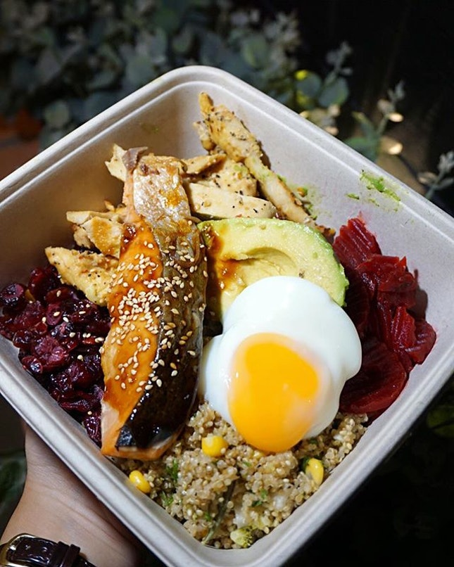 Design Your Own Bowl ($14/Medium) Customised my own protein salad bowl at @WheatBaumkuchen the other day & boy, if you've been following my IG story you'd know that I've been craving for it ever since!