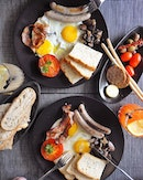 Quick getaway from the hustle & bustle with this lovely brunch situation at @sensoristorante!