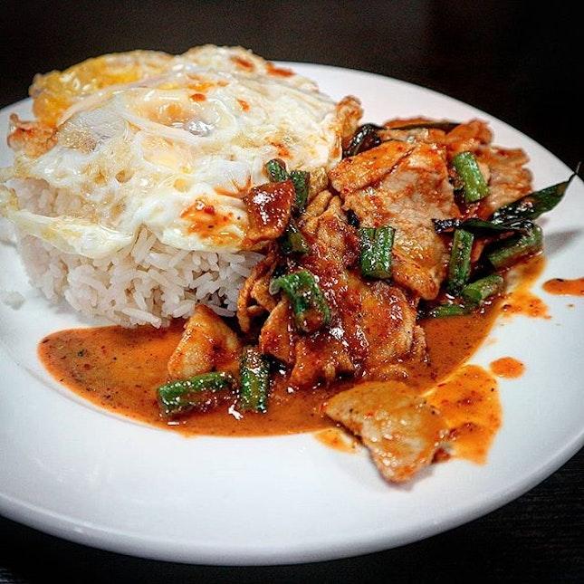 Thai chilli pork.
