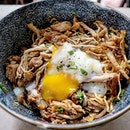 Purposely made a trip down to eat this pulled pork kolo mee.