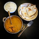 "A buttery and spicy lunch and I totally ""naan"" it!"