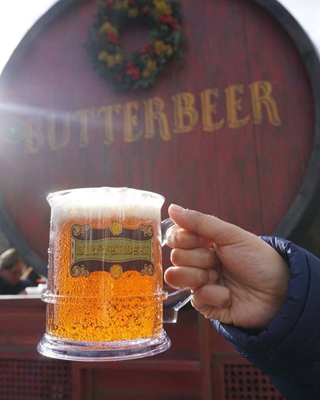 Butter beer; The most popular drink in USJ.