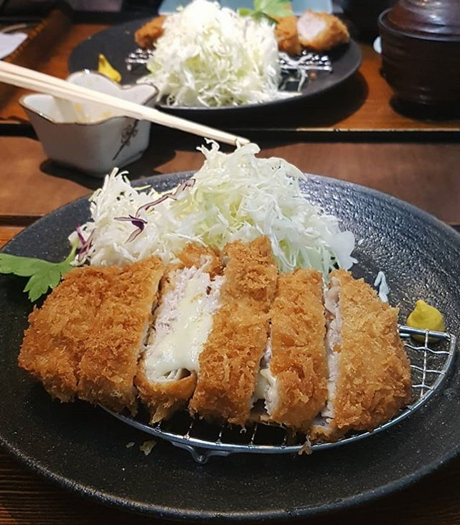Finally paid a visit to one of the best tonkatsu in Singapore.