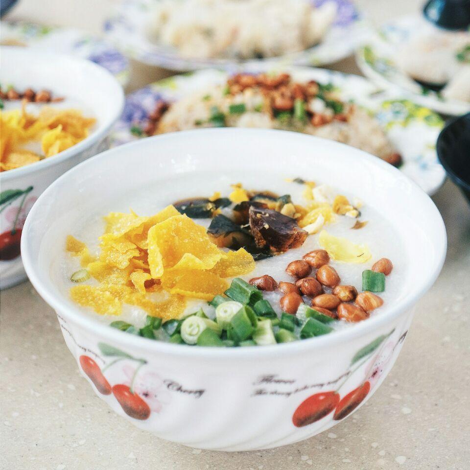 Hong Kong Cantonese Congee 😋